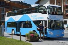 Mit dem Panorama-Bus geht es zur Lechquelle