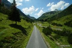 Unterwegs mit dem Panoramabus ins Lechquellgebiet