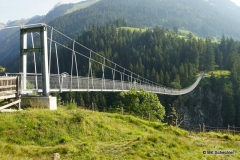 Hängebrücke bei Holzgau