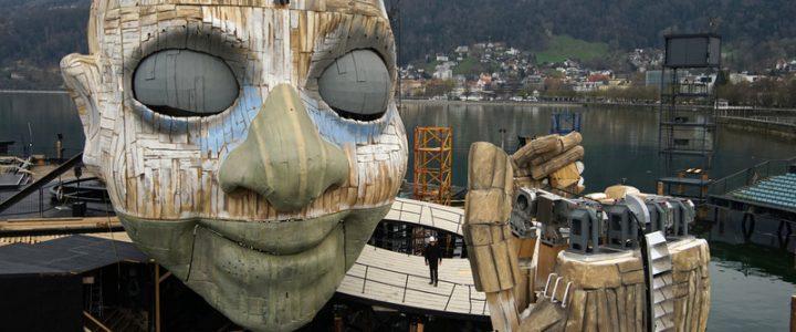 """Bregenzer Festspiele: """"Rigoletto"""" feiert Richtfest im Bodensee"""