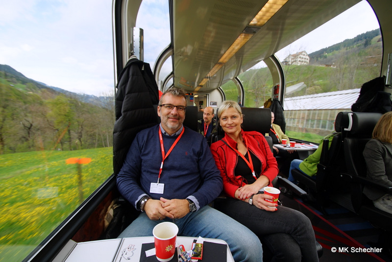 Teuflische Jungfernfahrt: Premiere des Bernina Diavolezza Express